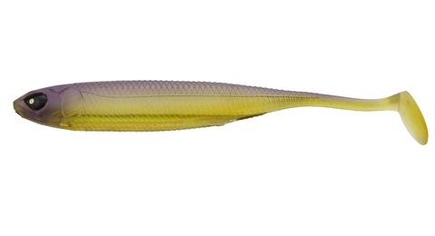 Виброхвост LJ 3D Series Makora Shad Tail 4.0in (10 см), цвет 004, 6 шт.