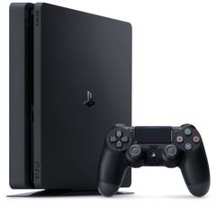 Sony PlayStation 4 Black Slim 1Tб (CUH-2208B) + диск Spiderman + диск Gran Turismo Sport + диск Horizon: Zero Dawn + PS Plus 3 месяца