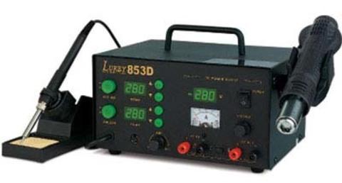 Многоканальная паяльная станция LUKEY-853D
