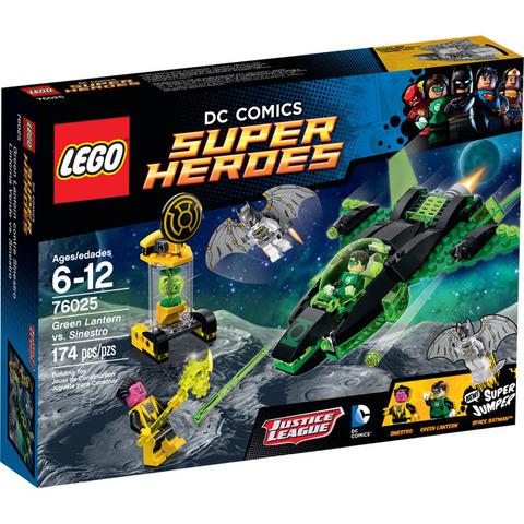 LEGO Super Heroes: Зеленый Фонарь против Синестро 76025 — Green Lantern vs. Sinestro — Лего Супергерои ДиСи