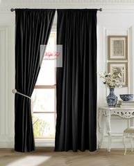 Длинные шторы, Ницца (чёрный)