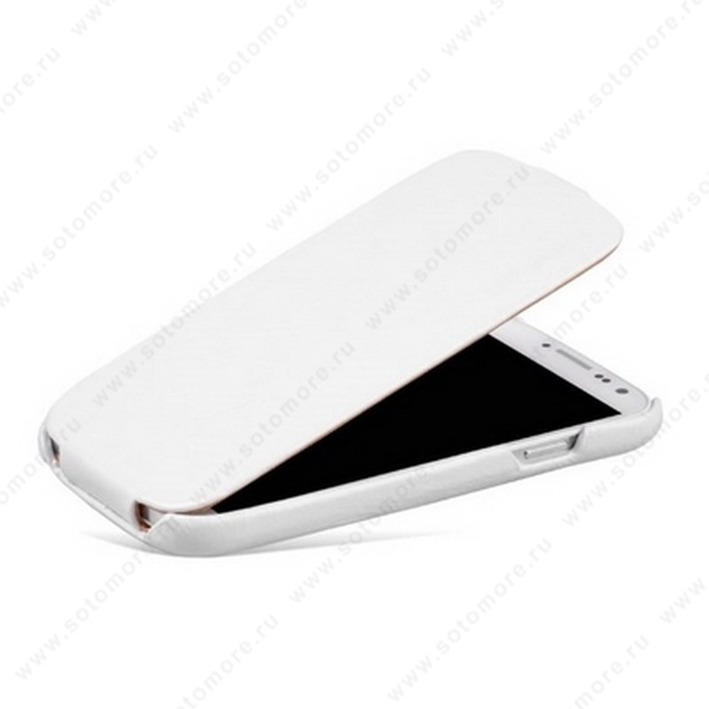 Чехол-флип Borofone для Samsung Galaxy S4 i9500/ i9505 - Borofone General Leather Case White