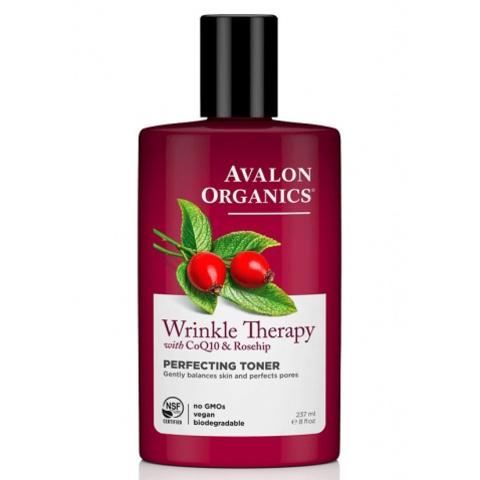 Тоник для лица с коферментом Q10 и шиповником, Avalon Organics