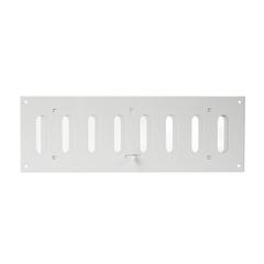 Регулируемая жалюзийная решетка Europlast MR4010R белая алюминиевая
