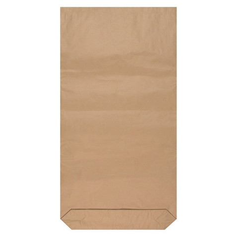 Крафт-мешок бумажный трехслойный с вкладышем 50x100x9 см