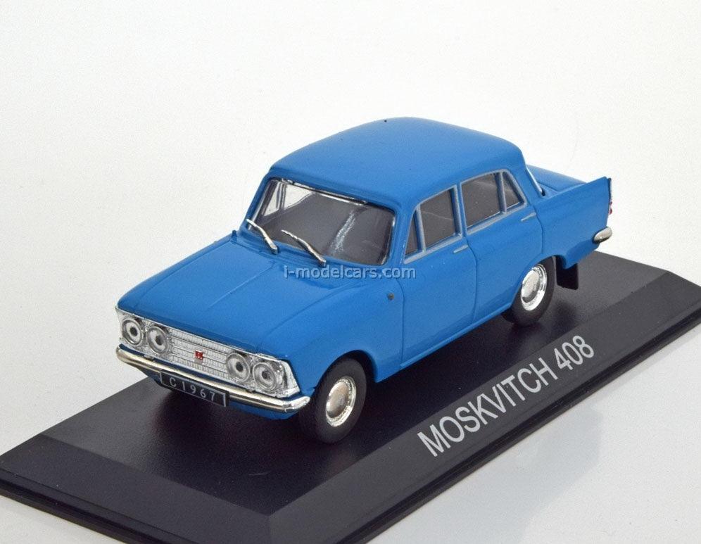 Moskwitsch 408 Limousine 1964-75 grün green 1:43 MF-Cars