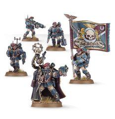 Start Collecting! Militarum Tempestus. Комиссар и его солдаты