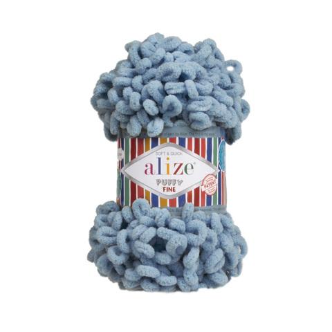 Купить Пряжа Ализе Пуффи Файн Код цвета 280   Интернет-магазин пряжи «Пряха»