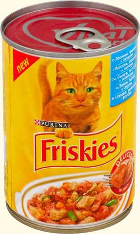 Friskies Кусочки в желе с лососем, форелью и овощами для кошек 400 г