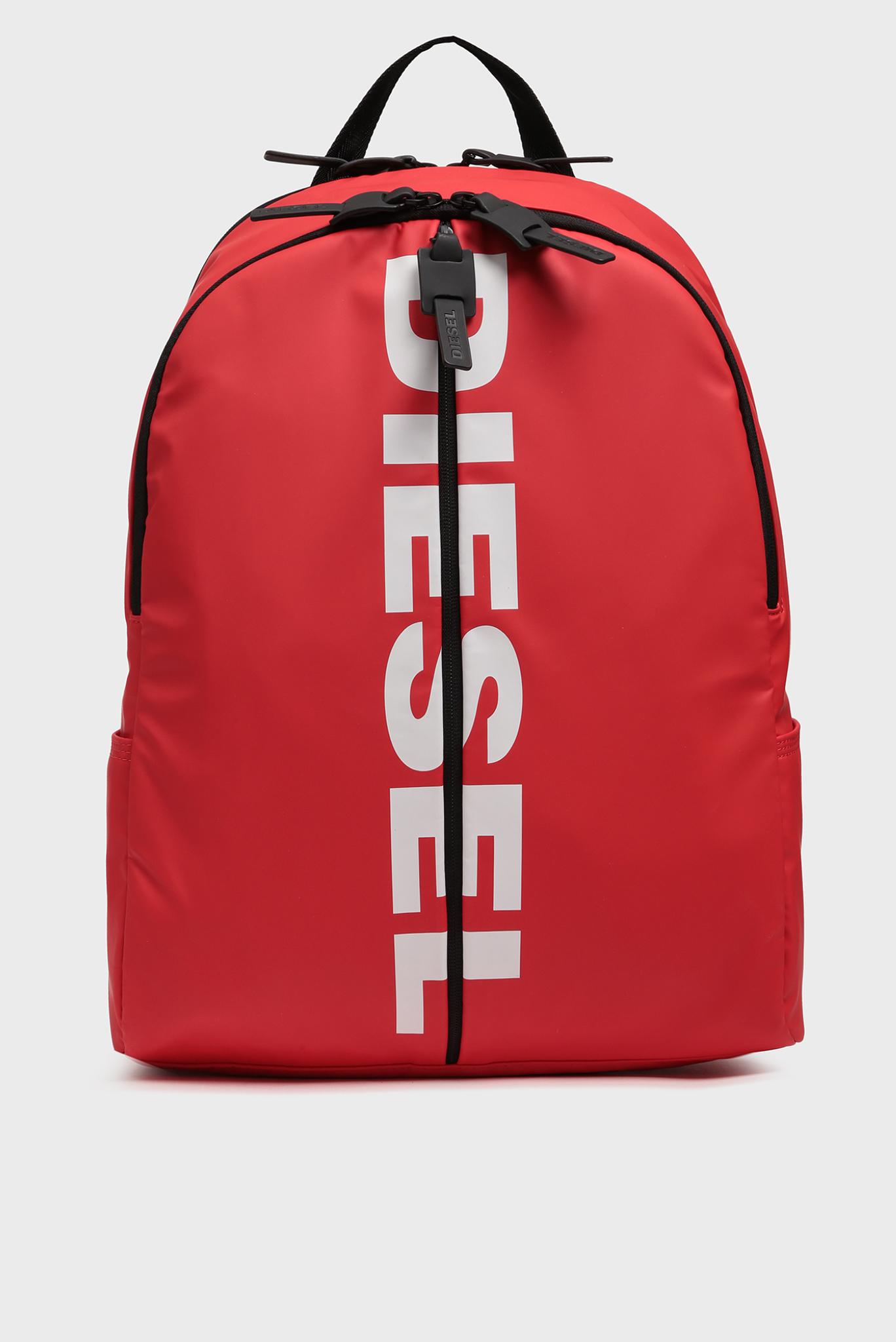 Мужской красный рюкзак BOLDMESSAGE / BOLD BACK Diesel