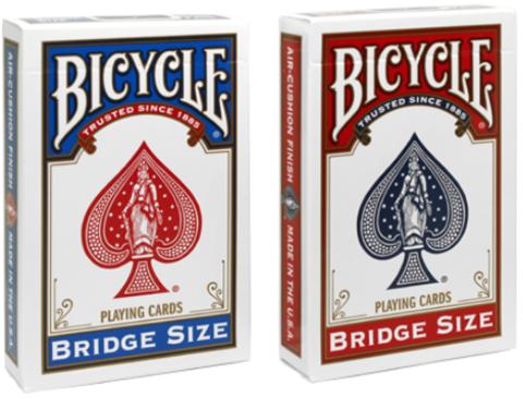 Карты Bicycle Bridge Size (узкие)
