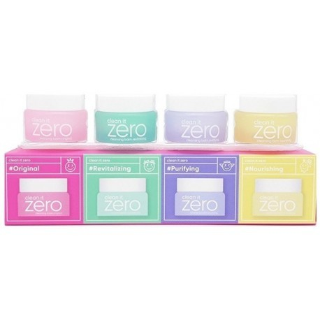 Набор гидрофильных бальзамов Banila Co Zero Special kit 4 шт