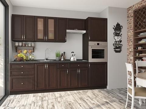 Кухня Шале-2 венге, thermo oak