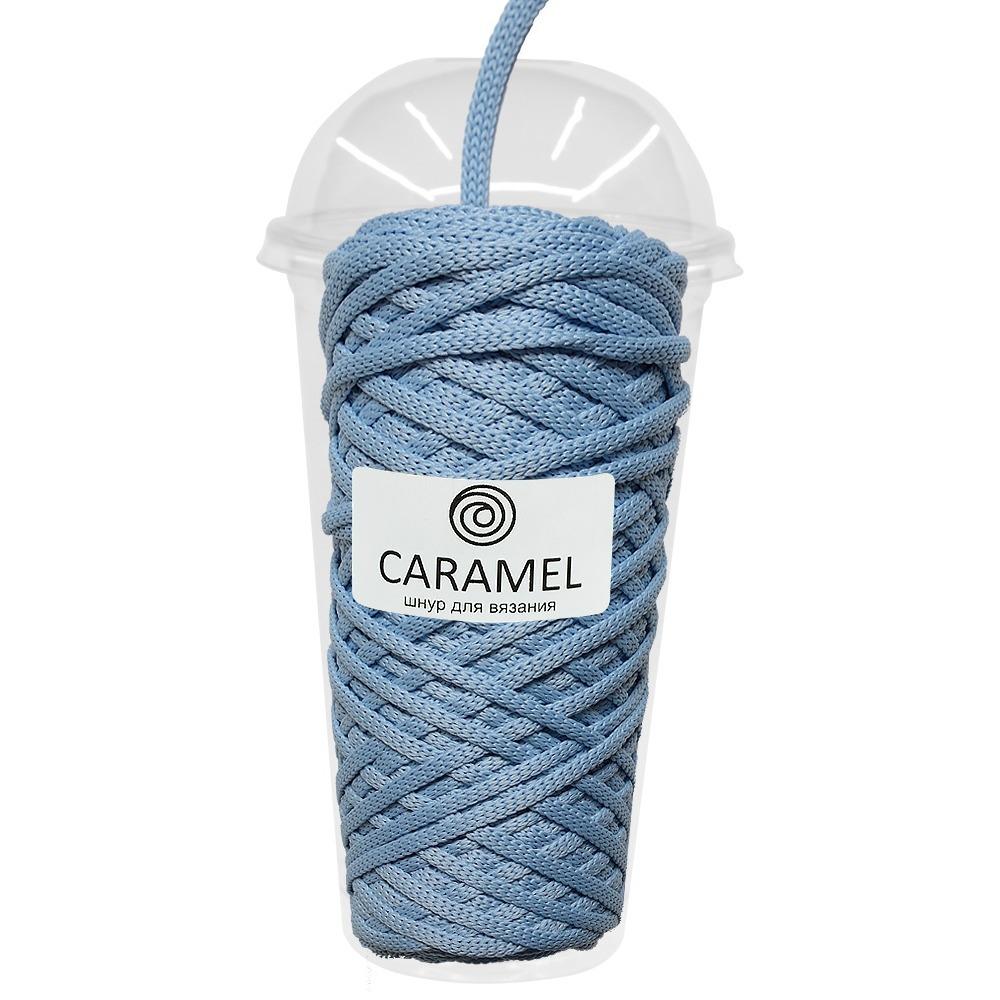 Плоский полиэфирный шнур Caramel Полиэфирный шнур Caramel Жемчужный sky-1000x1000_1_.jpg