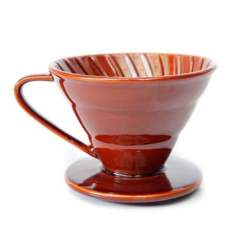 Воронка Tiamo керамическая V02 коричневая