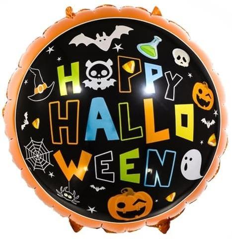 Фольгированный шар Время Хэллоуина