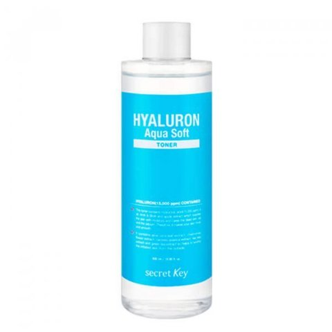 Гиалуроновый тонер Secret Key Hyaluron Aqua Soft Toner
