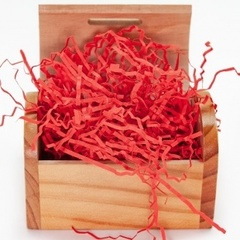 Наполнитель бумажный, Красный, 50 гр