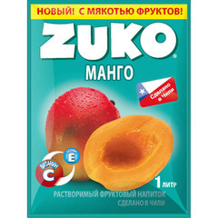 Растворимый напиток Zuko Апельсин (блок 12 пакетов)