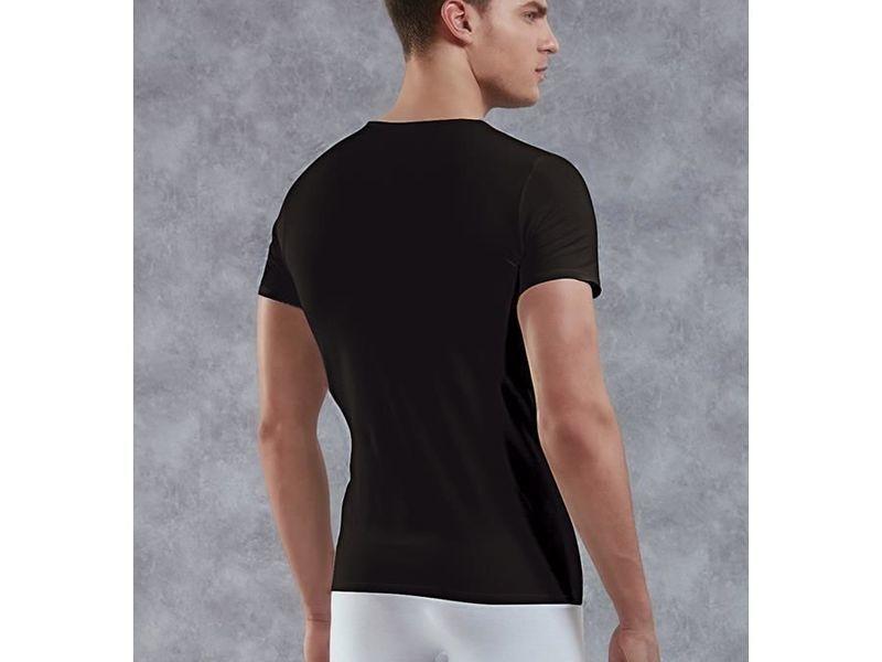 Мужская футболка черная Doreanse 2855