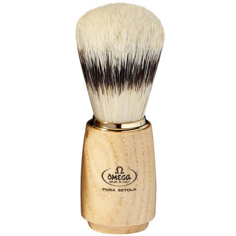 Помазок для бритья Omega 11150 натуральный кабан