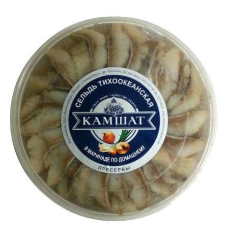 """Сельдь филе по-домашнему """"Камшат"""" 180г"""
