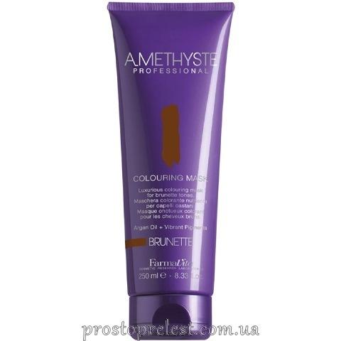Farmavita Amethyste Colouring Mask Brunette - Тонирующая маска для волос
