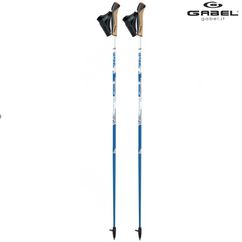 Скандинавские палки Gabel X-3 Carbon HM 50% 2020 Италия