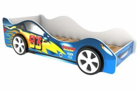 Кровать машина Тачка синяя