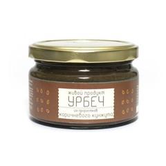 Урбеч из проростков коричневого кунжута, 225 гр. (Живой продукт)