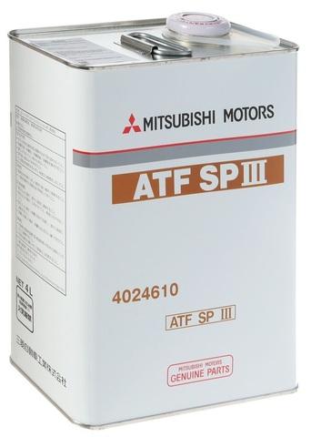 MITSUBISHI ATF SP-III Жидкость трансмиссионная АКПП (:Железо/Япония)