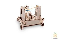 Деревянный конструктор 3D пазл Баллиста (Ballista) от Eco Wood Art