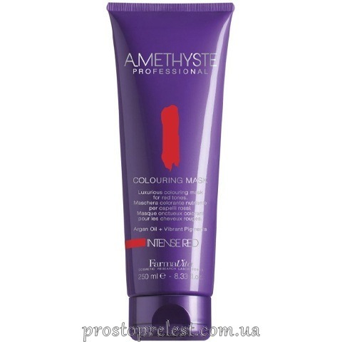 Farmavita Amethyste Colouring Mask Intense Red- Тонирующая маска для волос