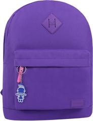 Рюкзак Bagland Молодежный W/R 17 л. фиолетовый 339 (00533662)
