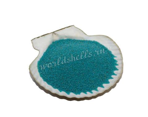 Бирюзовый цветной песок 300 гр.