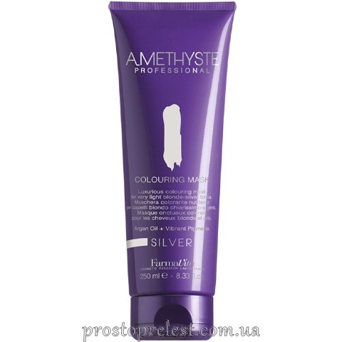 Farmavita Amethyste Colouring Mask Silver - Тонирующая маска для волос
