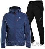 Лыжный утепленный костюм 8848 Altitude Padore Softshell Navy Noname Grassi 18