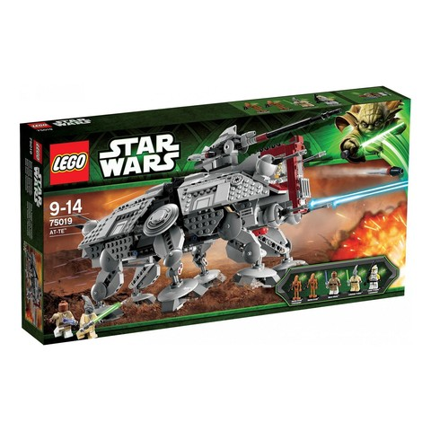 LEGO Star Wars: Боевая машина Шагоход AT-TE 75019 — Episode II: Attack of the Clones The AT-TE — Лего Стар варз Звёздные войны
