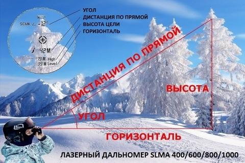 ЛАЗЕРНЫЙ ДАЛЬНОМЕР SLMA 1000 CAMO