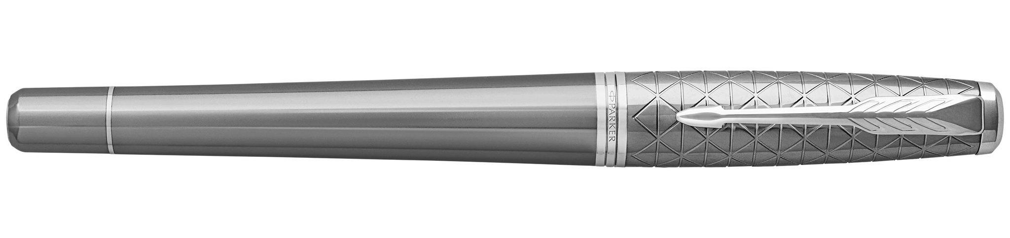 Parker Urban Premium - Silvered Powder CT, перьевая ручка, F