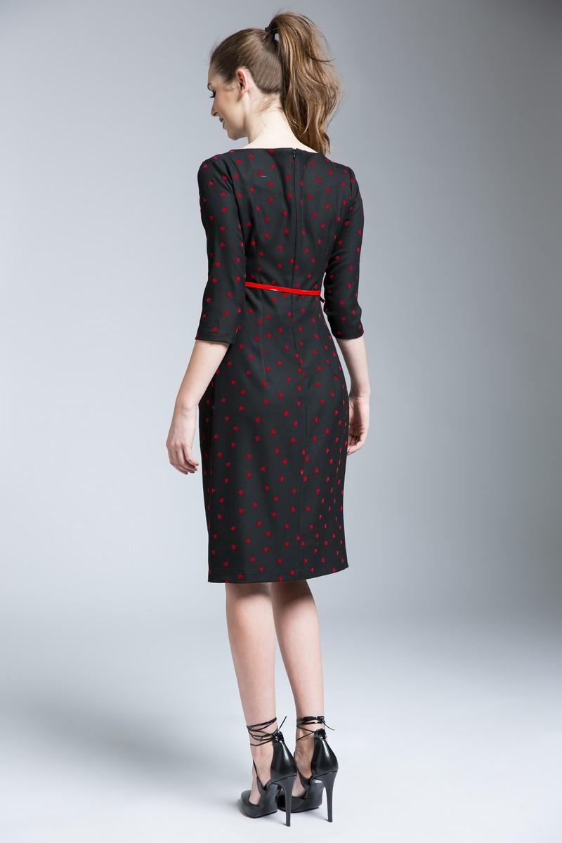Платье для беременных 06178 черный