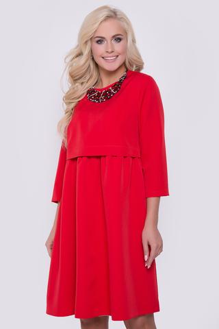 <p>Одна из любимых моделей этого сезона. Невероятно женственное и романтичное платье. Верхняя часть платья - отлетная, нижняя - пришита к подкладу. Длина: 44-50р - 93-100см</p>