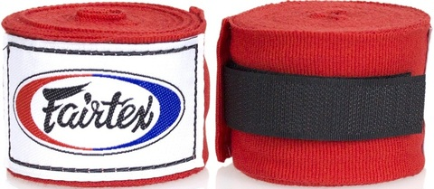 Бинты Fairtex Handwrap HW2 Red 3м