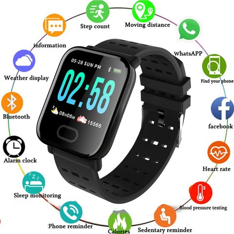 Часы Smart Bracelet Sustained Heart Rate