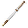 Pierre Cardin Luxor - White GT, перьевая ручка, М
