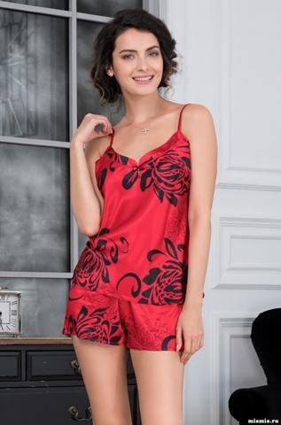 Пижама  женская Mia-Amore Da Vinci Да Винчи 8442 красный