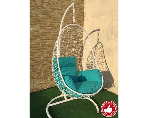 Подвесное кресло Изи усиленное белое