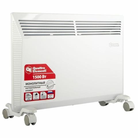 Нагреватель воздуха конвекторный QUATTRO ELEMENTI QE-1500KM (1,5 кВт). (790-533)