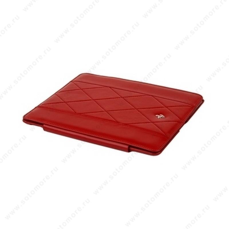 Чехол-книжка Ferrari для Apple iPad 2 красный