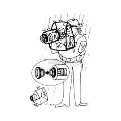 Дождевик для фотоаппарата UN Camera Rain Coat Pro UN-5890